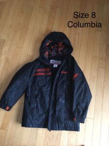 Boys size 8 winter jacket