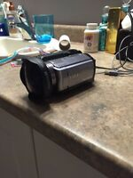 Sony avchd handycam with Hercules .3x fisheye
