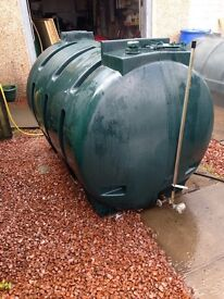 Oil tank 1300 litre other tanks availible can be delivered