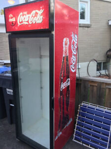 coca-cola fridge cooler