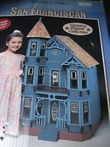 SAN FRANCISCAN DOLL HOUSE BY DURA-CRAFT INC #SF557