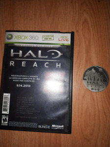 halo reach limited edition collector's coin