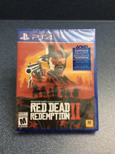 PS4  game  Red Dead Redemption 2 Brand New