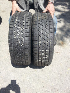 """4-16"""" P-215-60 MICHELINS TIRES FOR SALE"""
