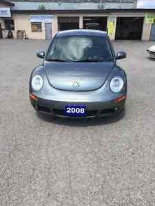 2008 beetle low kms $5995 certified
