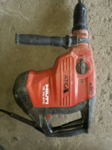 Selling hilti TE 70 ATC / AVR newest model Used hammer drill