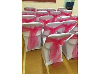 Chair Cover and Sashes Hire *£1*