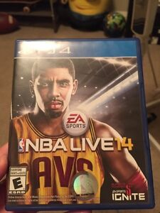 Nba live14 for ps4 . Barely used