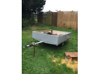 Trailer 6,6ft by 5ft ex trailer tent