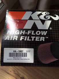 CBF 600 K&N air filter