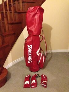 Spalding Golf Bag with Bag and Club Covers $60 OBO (Like New)