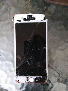 Broken phone for parts