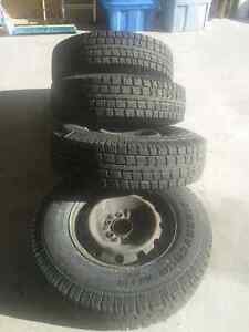 Winter Tires on rims LT235/80/17 - Great Snow Tires