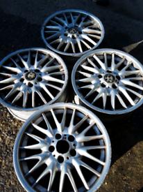 "18"" BMW MV1's 3 series, E46, style 72 alloy wheels (131)"