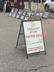 Acton Trunk Sale - Lego / Records / Food / Die Cast / Cds / Free