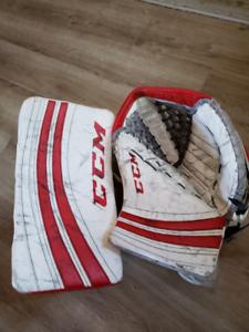 CCM Eflex Pro Goalie Glove and Blocker
