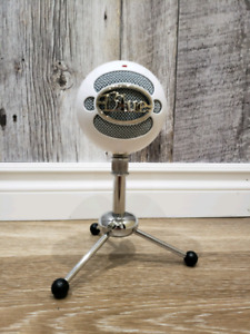 Blue snow Ball streaming recording music microphone