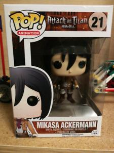 Attack on Titans - Mikasa Ackerman Funko Pop