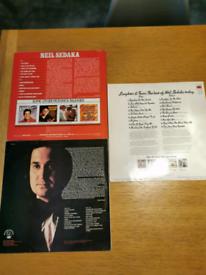 vinyl records by Neil sedaka