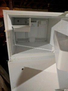 Fridge, that was used for beer
