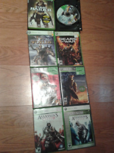 Xbox 360 Games: Halo 3, Assassin's Creed, COD, Skyrim, etc.