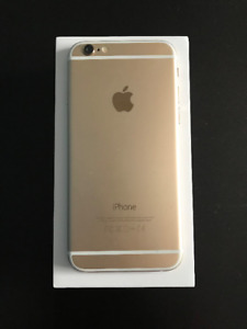iPhone 6 Gold UNLOCKED in Perfect Condition