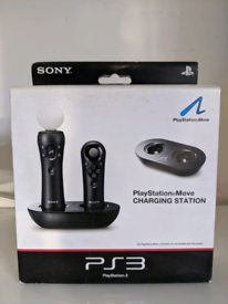 New Sony PlayStation PS4 PS3 Move Controller Charging Station Dock