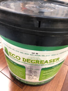 Eco degreaser professional strength drain and sewer opener
