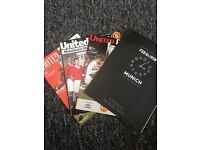 Collection of man Utd programs