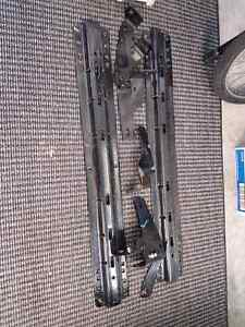 Fifth wheel rails with no drill kit 2013 ram 3500