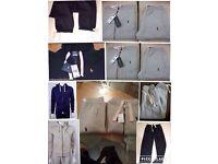 Ralph Lauren men's polo full tracksuits set hoodies & joggers £30 set 2x colours cotton