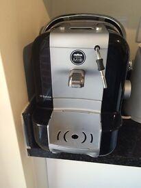 Lavazza a modo mio espresso maker with milk frother