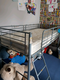 Kids metal mid sleeper - ALL OFFERS CONSIDERED