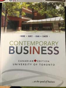Contemporary Business 1st Edition – Boone, Kurtz, Khan, Canzer