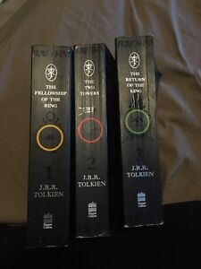 Lord of The Rings Book Set Cambridge Kitchener Area image 1