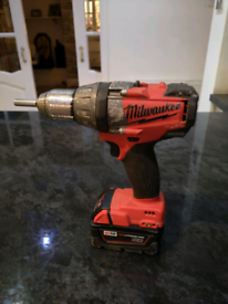 Milwaukee m18 fuel combi drill