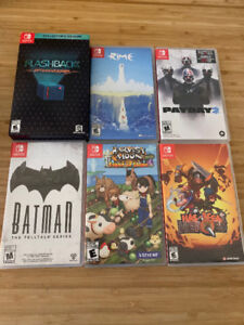 Nintendo Switch games for Sale or trade