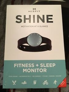 Misfit shine fitness monitor