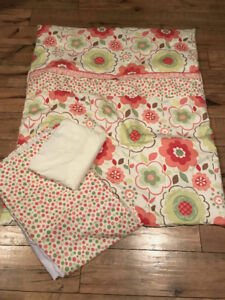 Crib Bedding Set - Perlim Pin Pin