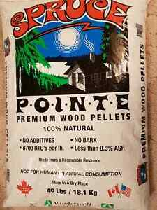 Spruce Point Wood Pellets For Sale.