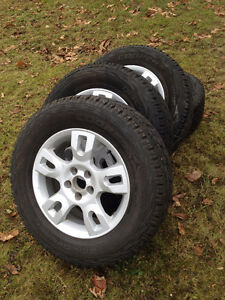 Rims and 245/65R17 cooper tires off 2005 Acura MDX