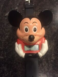 Official Classic Talking Disney Mickey Mouse Watch