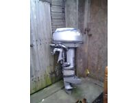 Wanted 2 outboard engine for fishing boat gear 2 hp & 25 to 40 Yamaha