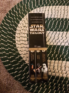 Star wars VCR tapes collection
