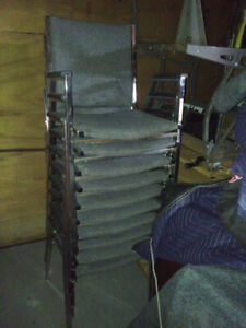 10 Chairs for sale $100 for all chairs