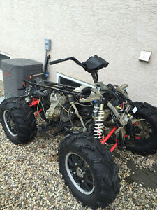 2013 Polaris Scrambler 850 Parting Out