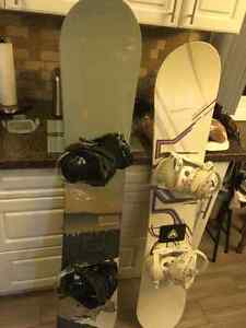 5150 snow board with bindings & Boots