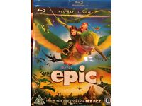 Epic on blu ray and digital.