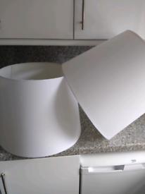 Lampshades, 45cm diameter