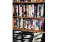 Large selection of VHS Video movies